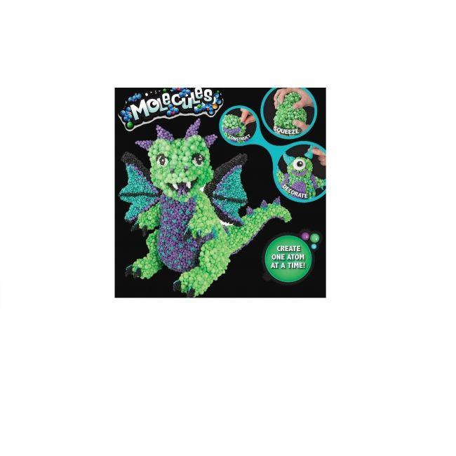 Molecules - Dragasaur Green Purple Aqua Black White
