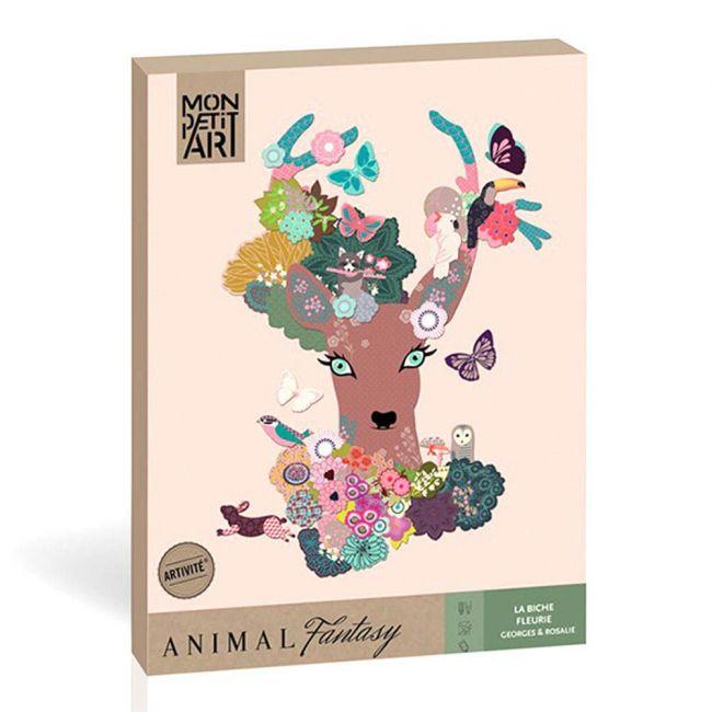 Mon Petit - Animal Fantasy Creative Kit - Floral Deer