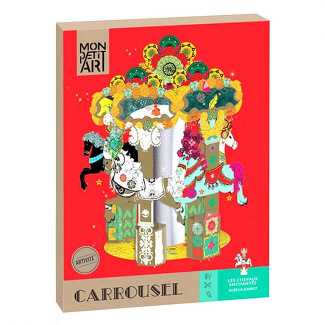 Mon Petit - Carousel Creative Kit - The Enchanted Horses