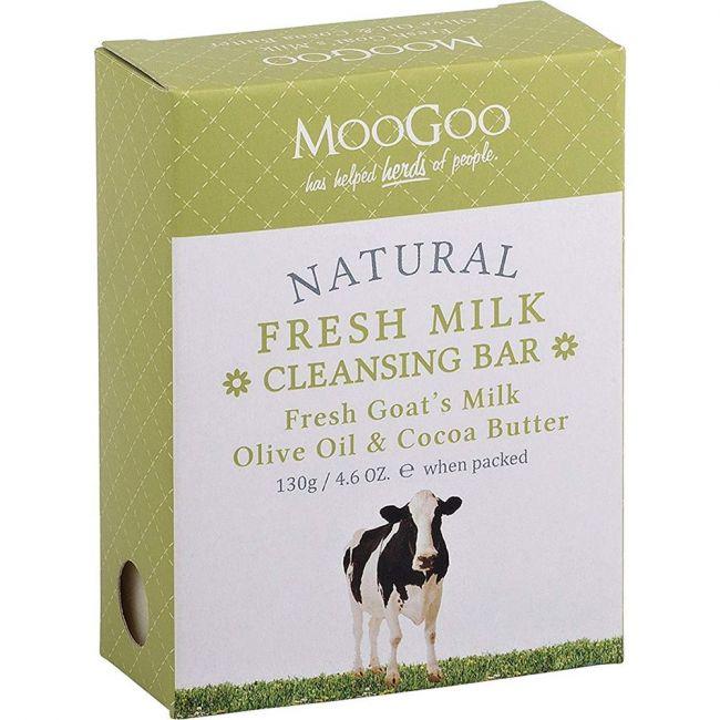 MooGoo Fresh Goat's Milk Cleansing Bar - 130g