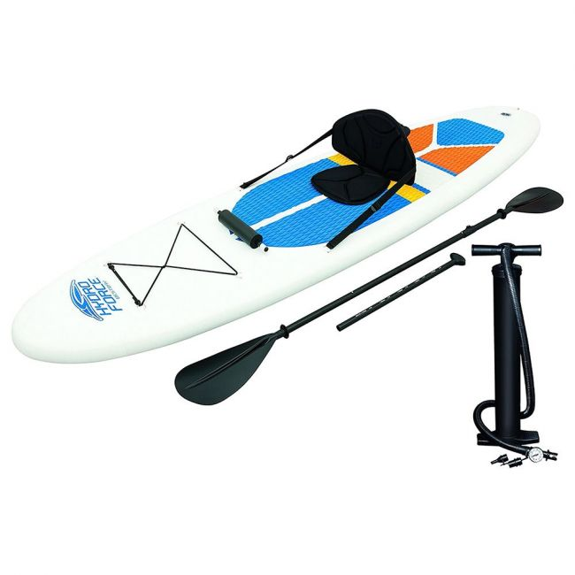 Bestway - Hydro- Force White Cap Sup & Kayak With Seat
