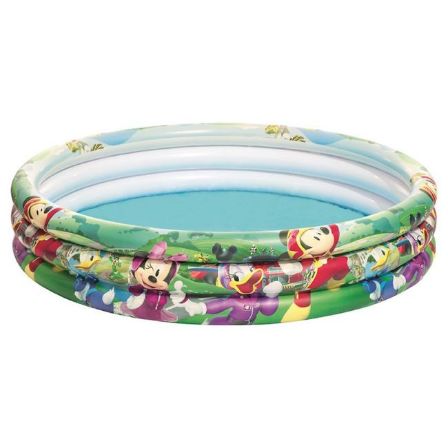 Bestway - 3 Ring Inflatable Ball Pit Pool - Mickey