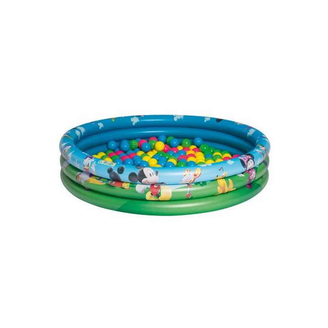 Bestway - 3-Ring Ball Pit Play Pool - Mickey Mouse