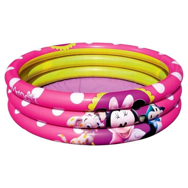 Bestway - Minnie Mouse Inflatable 3-Ring Pool 282L