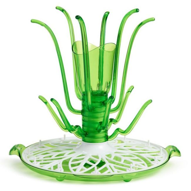 Munchkin - Sprout Drying Rack Green