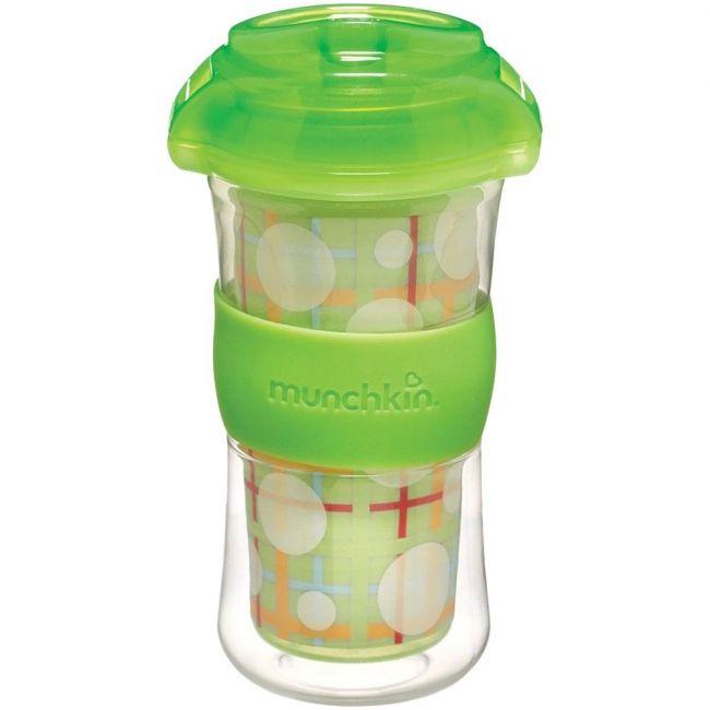 Munchkin 9oz Click Lock Insulated Big Kid Cup - Green