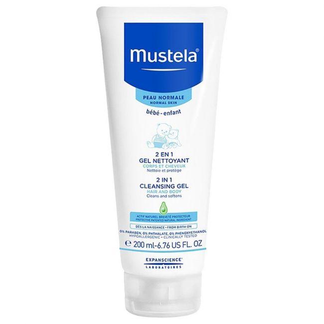 Mustela 2 in 1 Hair and Body Cleansing Gel