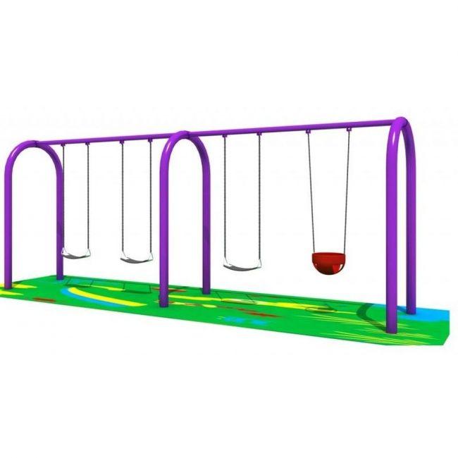 MYTS - Spring 4 Swing Set For Kids