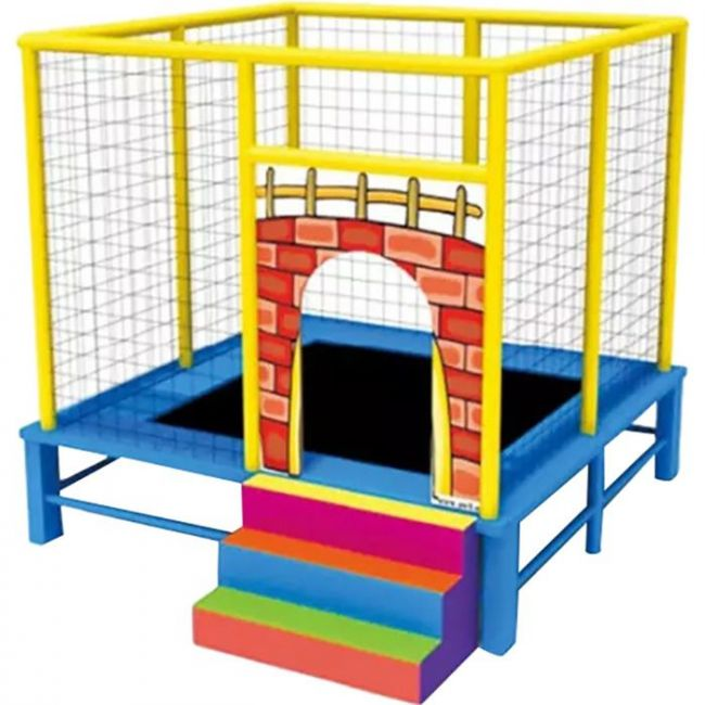 Myts - Flipout Bounce Kids Trampoline With Extra Safety