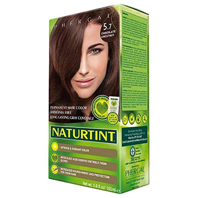 Naturtint Permanent Hair Color 5.7 Chocolate Chestnut 165ml