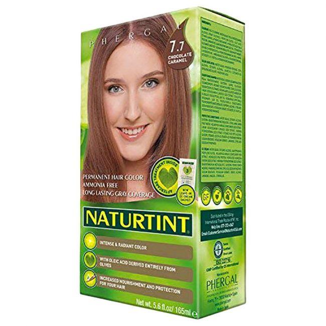 Naturtint Permanent Hair Color 7.7 Chocolate Caramel 165ml