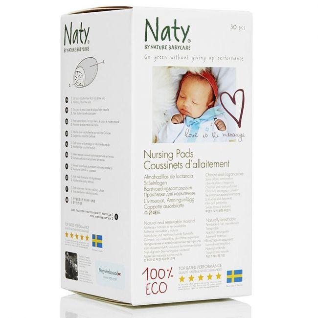 Naty Nursing Pads - 30 Pcs