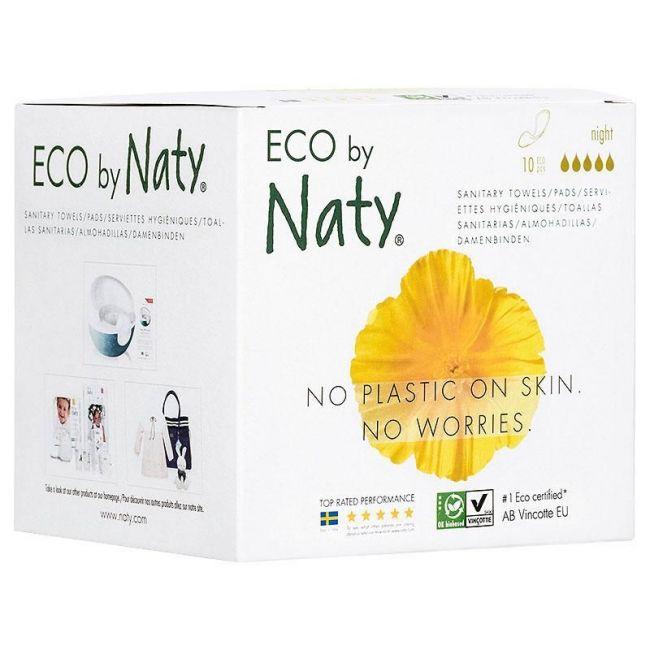 Naty Thin Pads Night - 10 pcs