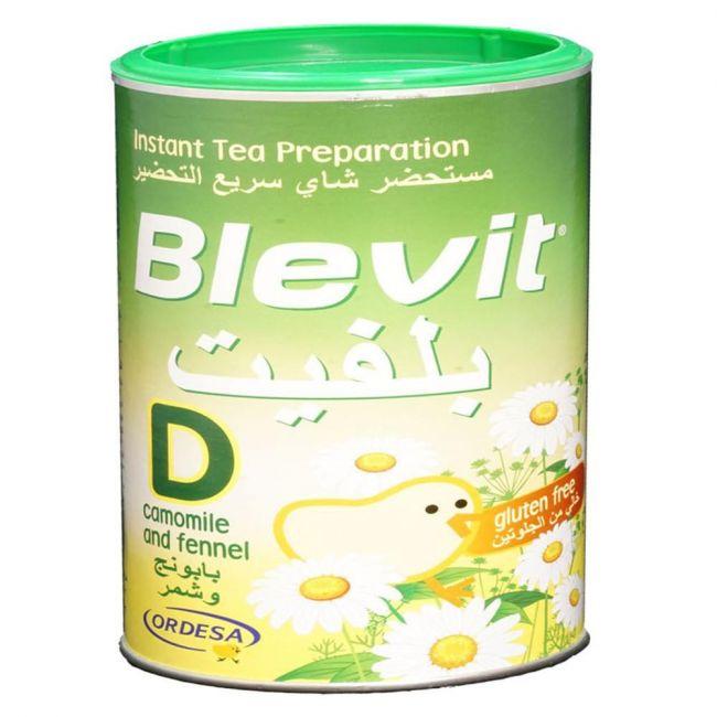 Ordesa - Blevit Plus D Powder Camomile And Fennel Instant Tea – 200 gm