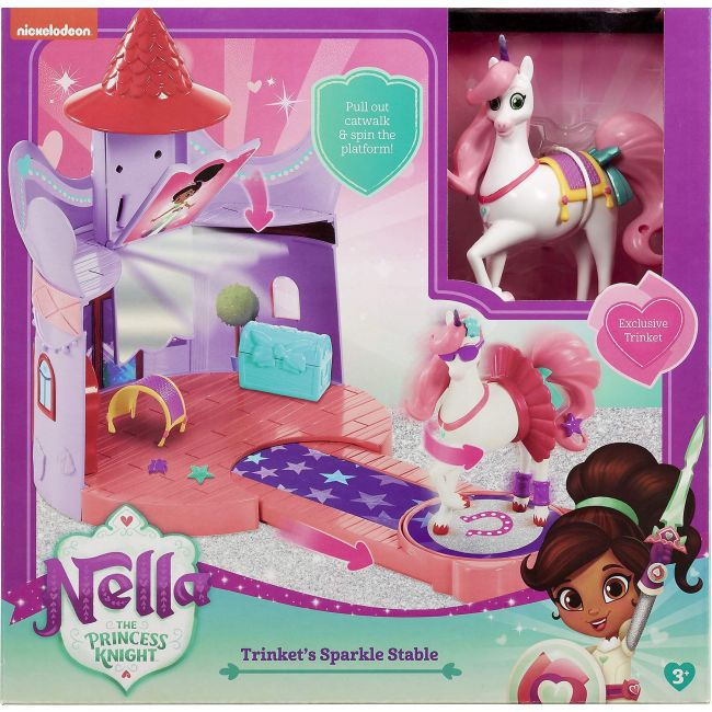 Nella The Princess Knight - Trinket S Stable Play Set