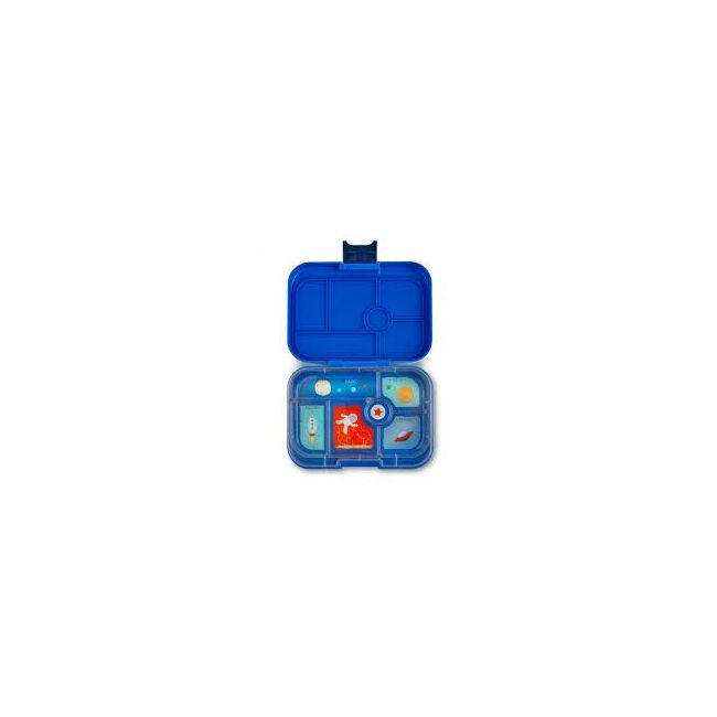 Yumbox Neptune Blue 6 compartments Bento Lunch box