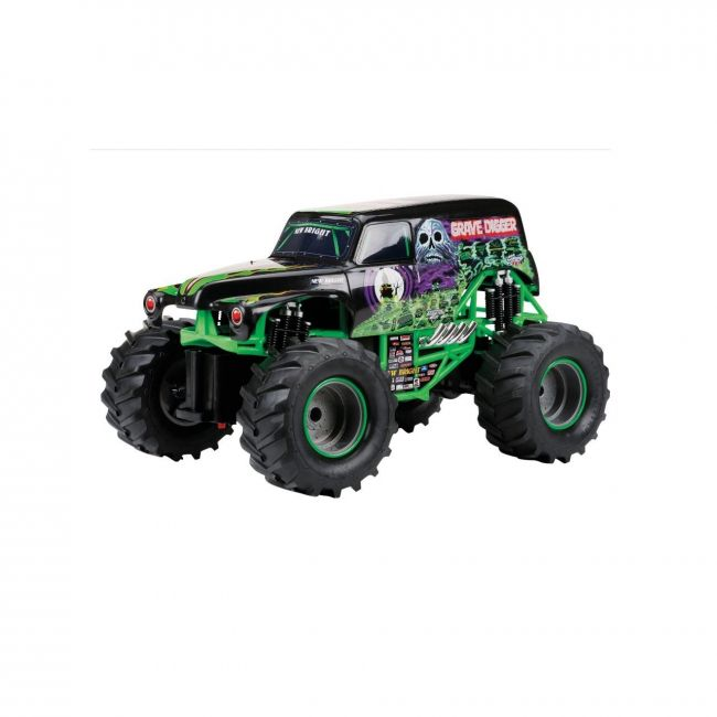New Bright - 1 15 Rc Full Function Monster Jam Asst