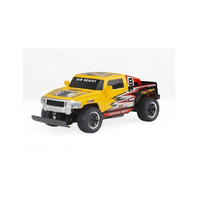 New Bright - 1 16 R C Hummer H 3 Dodge Ram Ford
