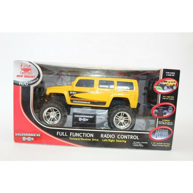 New Bright - 1 24 R C Simple Function Hummer H 3 Ford F 150 Dodge Ram Jeep Wrangler Asst