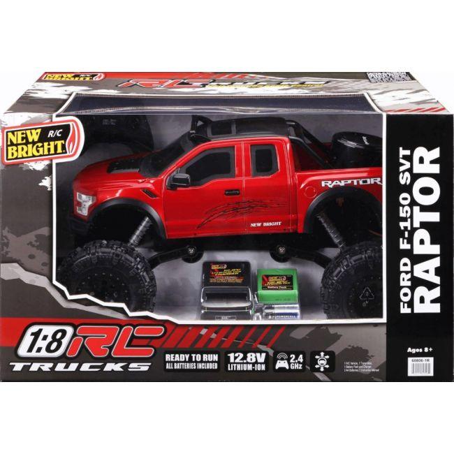 New Bright - 1 8 R C Full Function Ford Raptor