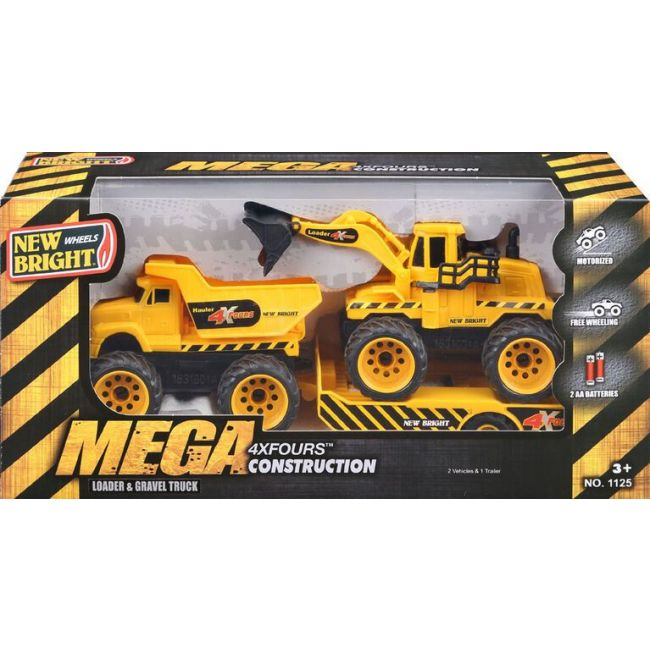 New Bright - 4 X 4 Truck Tw In Pack