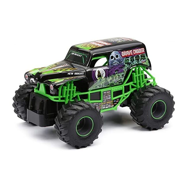 New Bright - Oy 1 24 R C Full Function Monster Jam Asst
