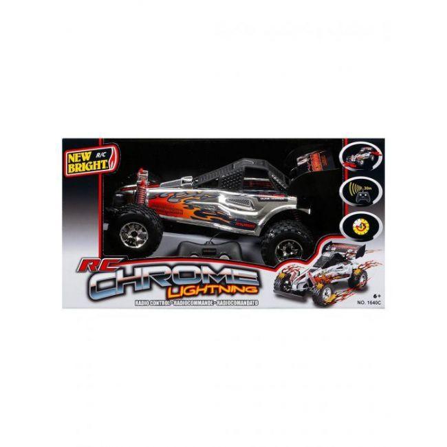 New Bright - Rc 1 16 Chrome Lightning Pick Up Trucks