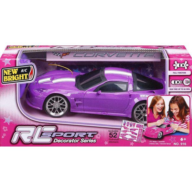 New Bright - Rc 1 16 Sport Corvette C 6 R Purple