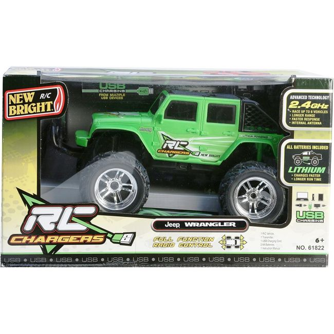 New Bright - Rc 1 18 Chargers Jeep Raptor