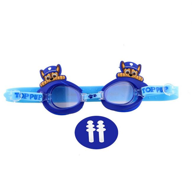 Nickelodeon - Paw Patrol 3D Swim Goggle With Free Ear Plug & Pvc Case For Kids