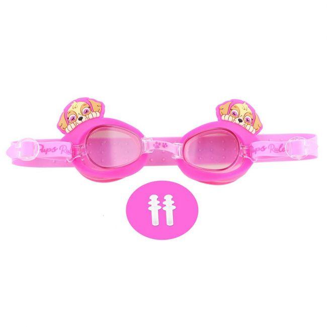 Nickelodeon - Paw Patrol Kids 3D Swim Goggle With Free Ear Plug & Pvc Case