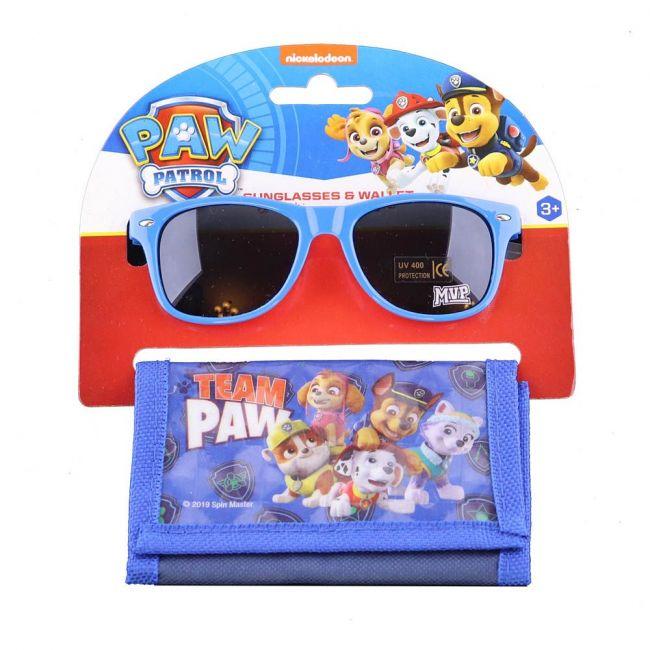 Nickelodeon - Paw Patrol Kids Boys Sunglasses With Wallet Set