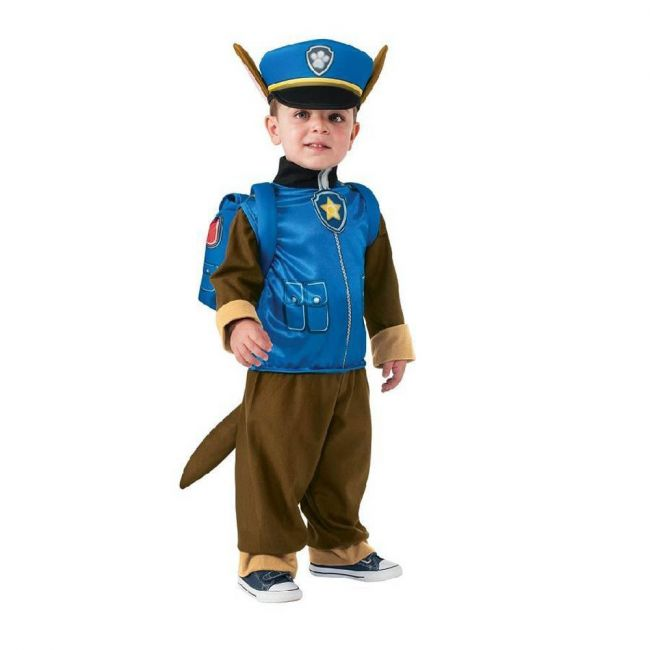 Nickelodeon - Paw Patrol Official Chase Deluxe Costume