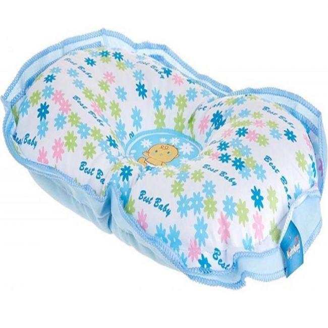 Night Angel Baby Blue Flowers Pillow