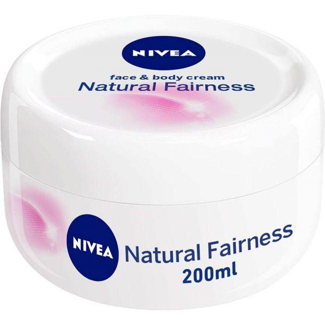 Nivea - Body Cream Natural Fairness 200Ml