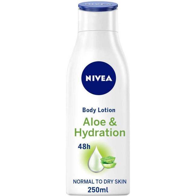 Nivea - Body Lotion Aloe & Hydration For Normal Skin 250Ml