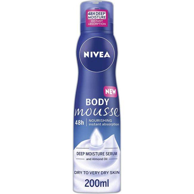 Nivea - Body Lotion Mousse Nourishing 200Ml