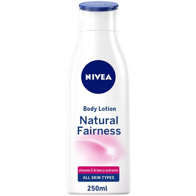 Nivea - Body Lotion Natural Fairness For All Skin Types 250Ml