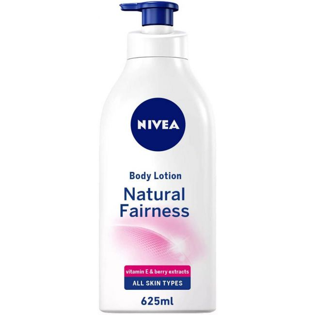 Nivea - Body Lotion Natural Fairness For All Skin Types 625Ml