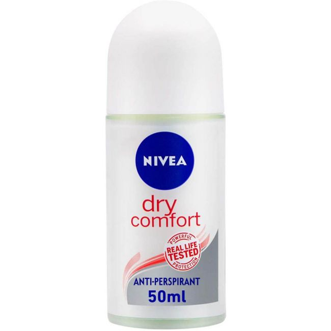 Nivea - Deo Roll-On Black & White Silky Smooth - 50ml