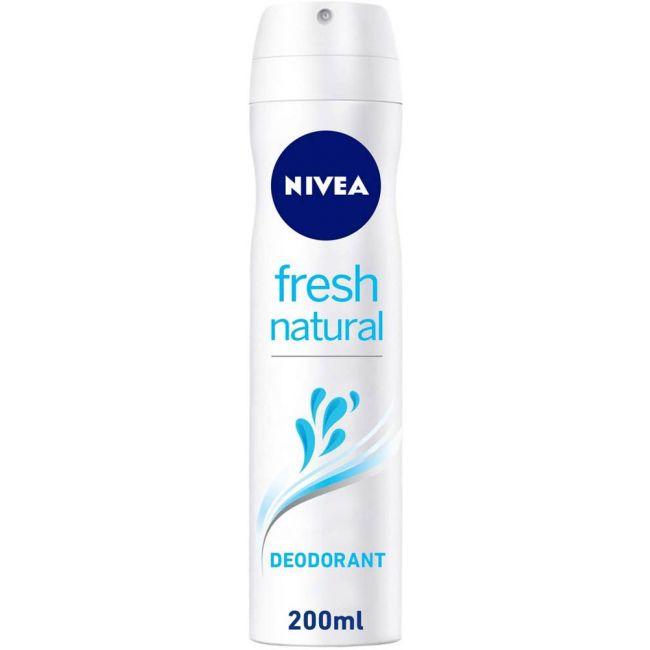 Nivea - Deo Spray Fresh Natural - 200ml
