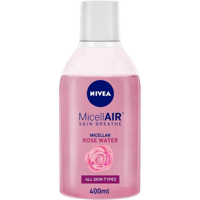 Nivea - Face Micellar Rose Water With Oil Make-Up Remover - 400ml