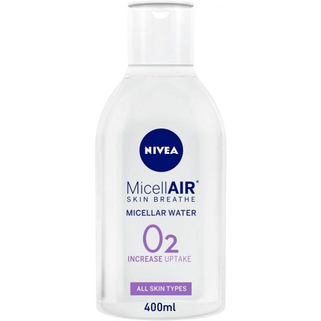 Nivea - Face Micellar Water All In 1 Make-Up Remover - 400ml