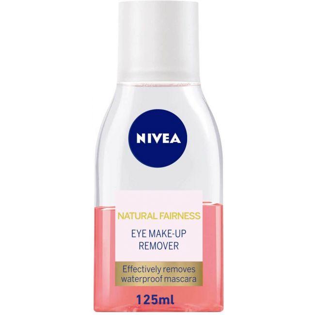 Nivea - Face Natural Fairness Eye Make-Up Remover - 125ml