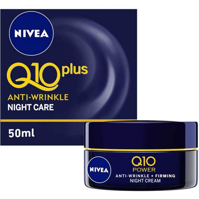 Nivea - Face Q10 Plus Anti-Wrinkle Night Care 50Ml