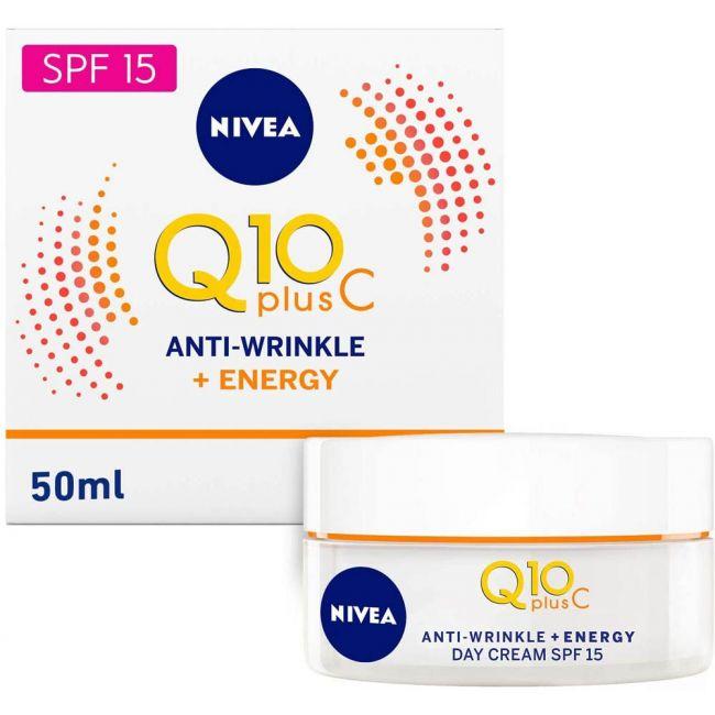 Nivea - Face Q10 Plus C Anti-Wrinkle Day Care 50Ml
