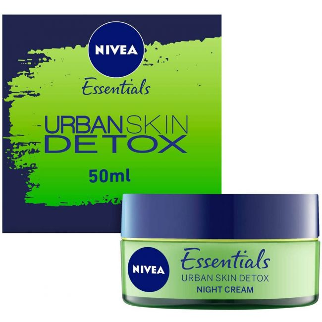 Nivea - Face Urban Skin Detox Night Gel Cream 50Ml
