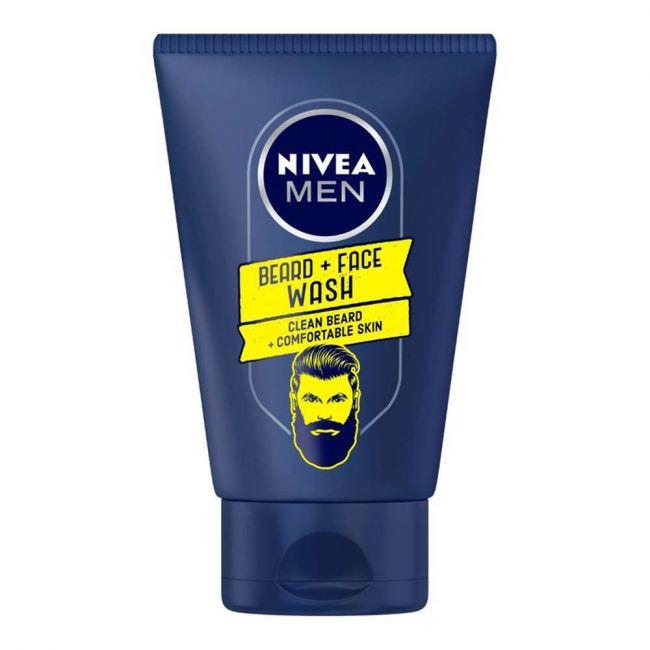 Nivea - Men Barber Pro Range Beard & Face Wash 100Ml