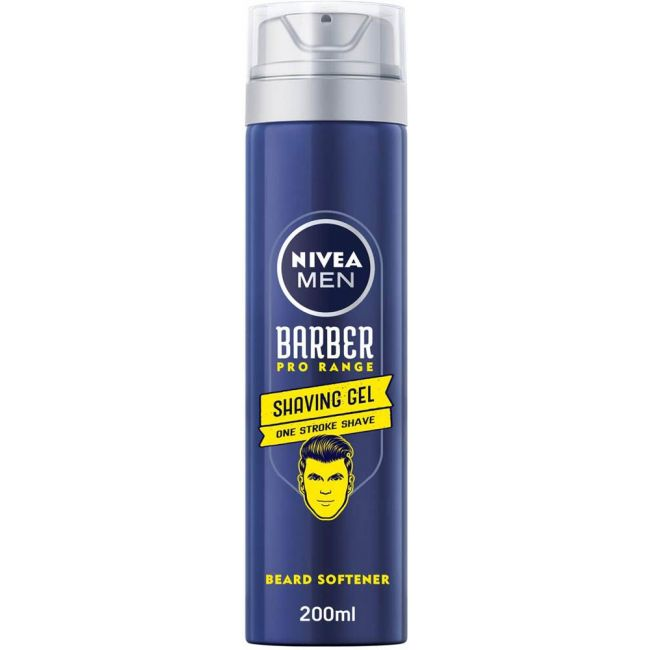 Nivea - Men Barber Pro Range Shaving Gel 200Ml