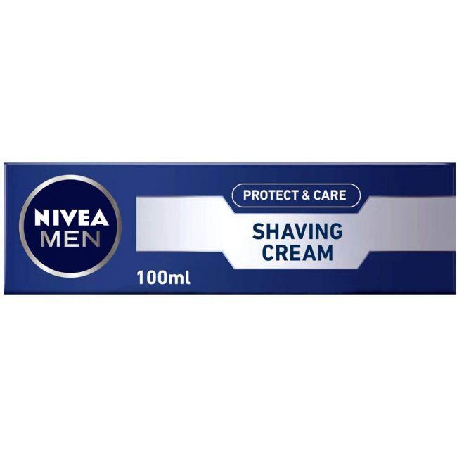 Nivea - Men Protect & Care Shaving Cream 100Ml